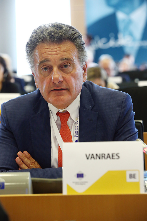 12 May 2017, 123rd Plenary Session of the European Committee of the Regions <br /> Belgium - Brussels - May 2017 <br /> <br /> Mr VANRAES Jean-Luc, Member of Uccle Municipal Council and President of the Public Welfare Centre ,OCMW/CPAS, Belgium<br /> <br /> &copy; European Union / Patrick Mascart