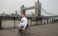 Virgin Money London Marathon 2015<br /> <br /> David Weir (UK) IPC Athlete competing in the IPC World Championships.<br /> Photo: Bob Martin for Virgin Money London Marathon<br /> <br /> This photograph is supplied free to use by London Marathon/Virgin Money.
