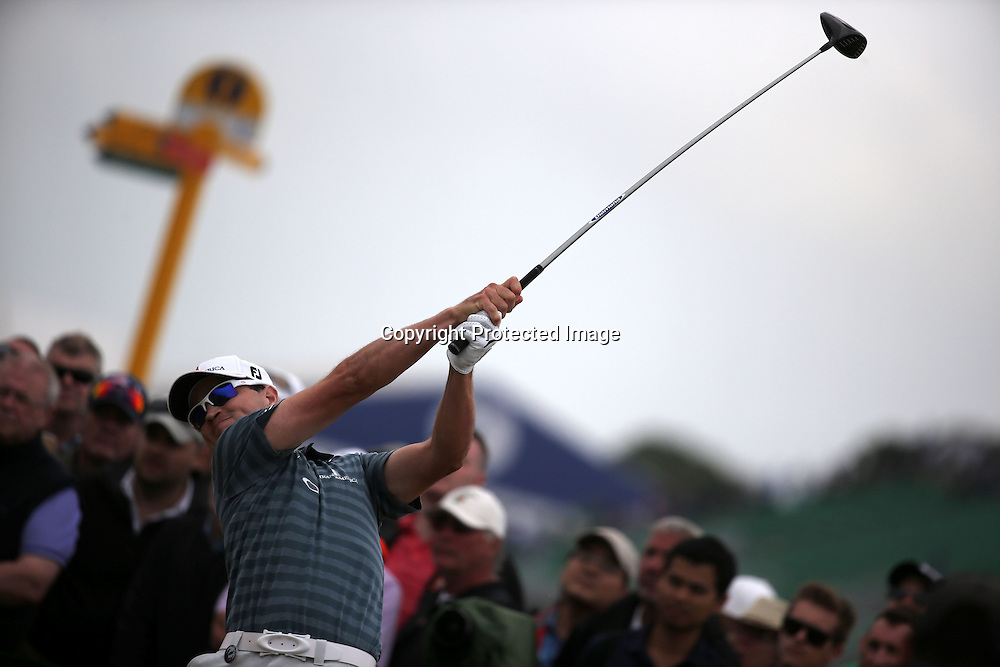 Zach Johnson (USA),<br /> JULY 21, 2013 - Golf :<br /> Zach Johnson of United States in action on 6th hole during the final round of the 142nd British Open Championship at Muirfield in Gullane, East Lothian, Scotland. (Photo by Koji Aoki/AFLO SPORT) [0008]