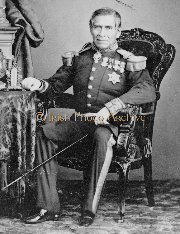 Juan Nepomuceno Almonte (May 15, 1803 – March 21, 1869) was a 19th century Mexican official, soldier and diplomat. He was a veteran of the Battle of the Alamo during the Texas Revolution. Almonte was also a leader of Mexico's Conservatives in the 1860s and served as regent