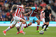 Stoke City v West Ham United 29 April 2017