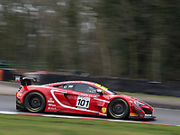 #101 Balfe Motorsport Shaun Balfe / Rob Bell McLaren 650S GT3 Pro/AM during British GT Championship as part of the British GT and BRDC British F3 Championship at Oulton Park, Little Budworth, Cheshire, United Kingdom. March 31 2018. World Copyright Peter Taylor/PSP.
