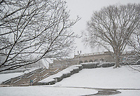 Ault Park Cincinnati Ohio Winter