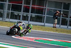 September 7, 2018 - 35 CAL CRUTCHLOW from Great Britain, LCR Honda Castrol Team, Honda, Gran Premio Octo di San Marino e della Riviera di Rimini, during the Friday FP1 at the Marco Simoncelli World Circuit for the 13th round of MotoGP World Championship, from September 7th to 9th, 2018. (Credit Image: © AFP7 via ZUMA Wire)