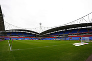 General view of the University of Bolton Stadium during the EFL Sky Bet League 1 match between Bolton Wanderers and AFC Wimbledon at the University of  Bolton Stadium, Bolton, England on 7 December 2019.