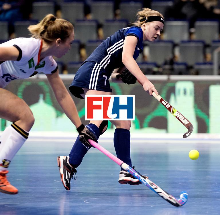 BERLIN - Indoor Hockey World Cup<br /> Women: Germany - Russia<br /> foto: EROSHINA Svetlana.<br /> WORLDSPORTPICS COPYRIGHT FRANK UIJLENBROEK