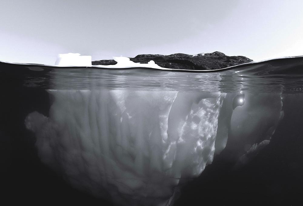 Iceberg over & under
