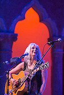 Emmylou Harris performing in the Venetian Theater at Caramoor in Katonah New York, on July 13, 2013.<br />