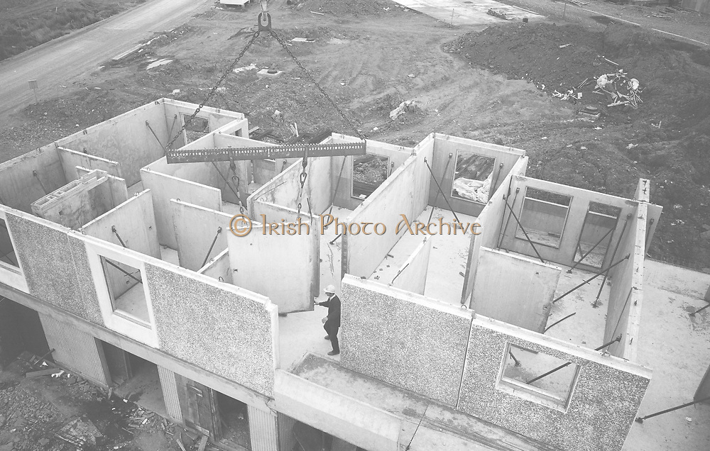 Ballymun 11/8/66 *** Local Caption *** It is important to note that under the COPYRIGHT AND RELATED RIGHTS ACT 2000 the copyright of these photographs are the property of the photographer and they cannot be copied, scanned, reproduced or electronically stored in any form whatsoever without the written permission of the photographer