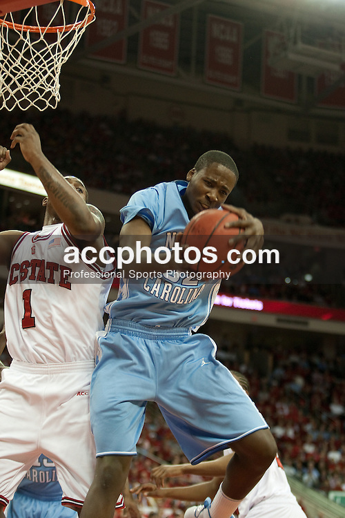 26 January 2010: North Carolina Tar Heels forward Ed Davis (32) during a 77-63 win over the North Carolina State Wolfpack at the RBC Center in Raleigh, NC.