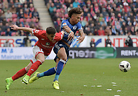 v.l. Jairo Samperio (Mainz), Thilo Kehrer<br /> Mainz, 19.03.2017, Fussball, Bundesliga, 1. FSV Mainz 05 - FC Schalke 04 0:1<br /> <br /> Norway only