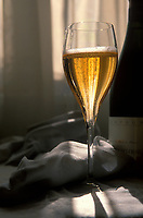 Champagne in a glass- Photograph by Owen Franken