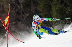 KUERNER Mihaof Slovenia competes during 1st Run of 8th Men's Giant Slalom - Pokal Vitranc 2012 of FIS Alpine Ski World Cup 2011/2012, on March 10, 2012 in Vitranc, Kranjska Gora, Slovenia.  (Photo By Vid Ponikvar / Sportida.com)