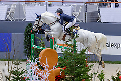 HINNERS Sophie (GER), Carlotta 212<br /> Genf - CHI Geneve Rolex Grand Slam 2019<br /> Coupe des Espoirs<br /> Internationales Springen Fehler/Zeit U25<br /> Competition for under 25 1m45<br /> Table A: Against the Clock<br /> 13. Dezember 2019<br /> © www.sportfotos-lafrentz.de/Stefan Lafrentz