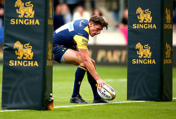 Ben Howard of Worcester Warriors scores a try - Mandatory by-line: Robbie Stephenson/JMP - 29/07/2017 - RUGBY - Franklin's Gardens - Northampton, England - Worcester Warriors v Newcastle Falcons - Singha Premiership Rugby 7s