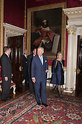 PRINCE CHARLES; HON HANNAH ROTHSCHILD, Everyman 25th Anniversary party, Spencer House. St. James' Place. London. SW1. 26 October 2016