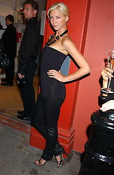Actress MARGO STILLEY at the launch of 'Blow Lips' a new lipstick by Isabella Blow and MAC Makeup held at the the Blow de la Barra Gallery, 35 Heddon Street, London on 7th September 2005.<br /><br />NON EXCLUSIVE - WORLD RIGHTS