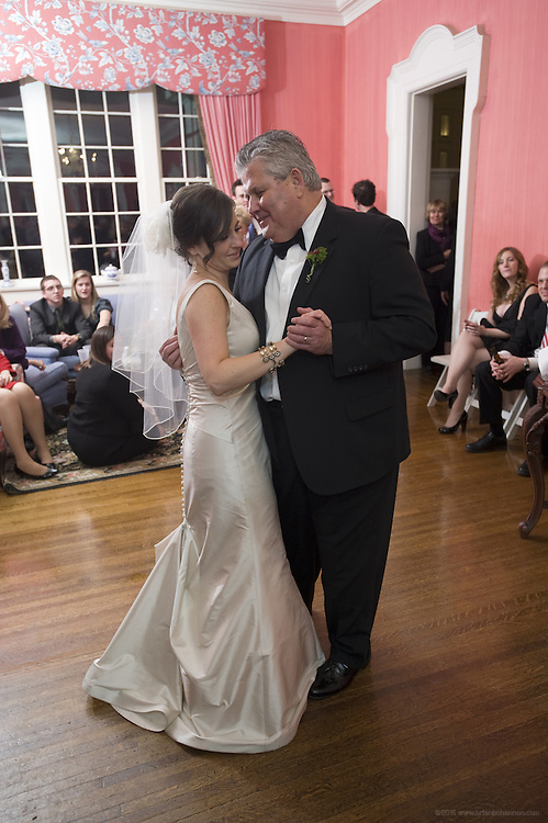 The wedding and reception of Emilie Southworth and Adam Barrick Saturday, Feb. 12, at the Peterson Dumesnil House in Louisville, Ky. (Photo by Brian Bohannon)