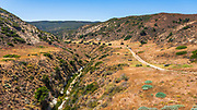 Water Canyon Campground, Santa Rosa Island, Channel Islands National Park, California USA