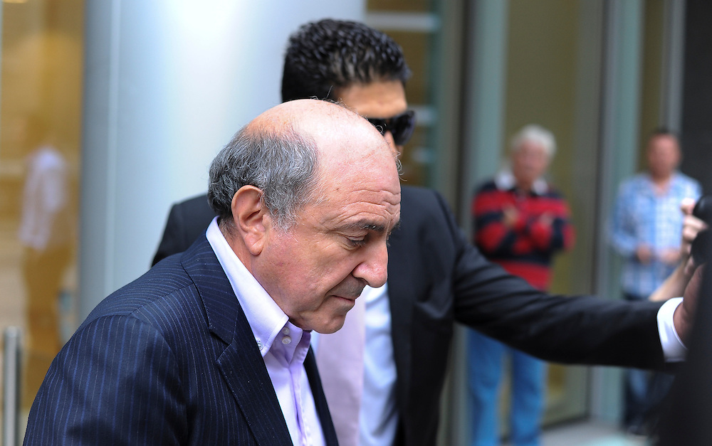 Russian businessman Boris Berezovsky leaves The High Court on October 4, 2011 in London, England. Mr Berezovsky is alleging a breach of contract over business deals with fellow Russian and Chelsea Football Club owner Roman Abramovich and is claiming more than £3.2bn in damages.......