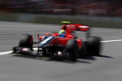 Motorsports / Formula 1: World Championship 2010, GP of Brazil, 25 Lucas di Grassi (BRA, Virgin Racing),