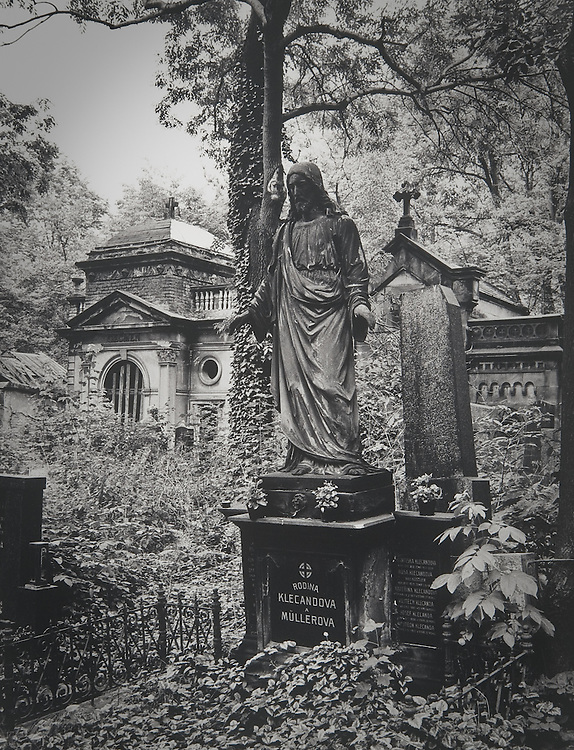 The New Cemetery, Prague  No. 3