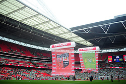 Wembley Stadium, the venue for the League 1 Play-Off final between Brentford and Yeovil Town - Photo mandatory by-line: Dougie Allward/JMP - Tel: Mobile: 07966 386802 19/05/2013 - SPORT - FOOTBALL - LEAGUE 1 - PLAY OFF - FINAL - Wembley Stadium - London - Brentford V Yeovil Town