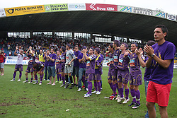 at last football match of PrvaLiga Telekom Slovenije between NK Maribor and NK Interblock, when Maribor became a Slovenian National Champion, on May 23, 2009, in Ljudski vrt, Maribor. (Photo by Marjan Kelner/Sportida)