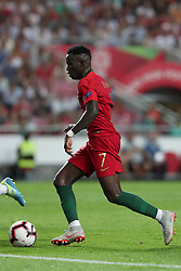 September 10, 2018 - Lisbon, Portugal - Portugal's forward Bruma in action during the UEFA Nations League A group 3 football match Portugal vs Italy at the Luz stadium in Lisbon, Portugal on September 10, 2018. (Credit Image: © Pedro Fiuza/NurPhoto/ZUMA Press)