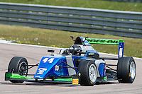 #44 Eugene DENYSSEN (RSA)  SWR  Tatuus-Cosworth  BRDC British F3 Championship at Rockingham, Corby, Northamptonshire, United Kingdom. April 30 2016. World Copyright Peter Taylor/PSP.