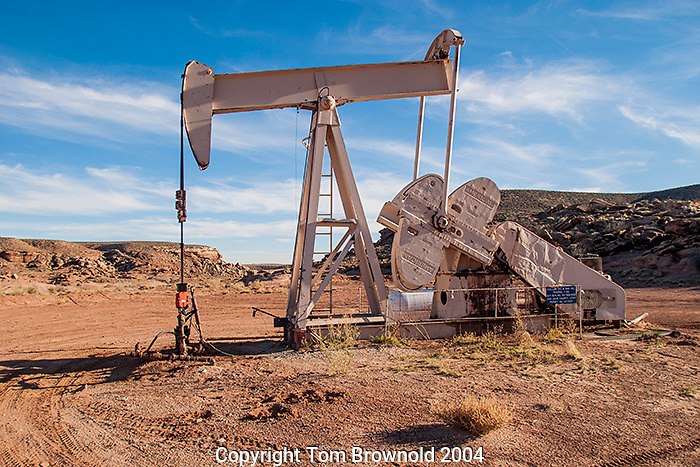 oil pump in the four corners region of the  Southwestern USA.
