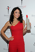 "The original Skinnygirl Bethenny Frankel introduces fans to the newest Skinnygirl Cocktails innovation, Spicy Lime Margarita, at the ""Boy Meets Skinnygirl Cocktails"" Valentine's Launch Party, Tuesday, Feb. 10, 2015 in New York. (Photo by Diane Bondareff/Invision for Skinnygirl Cocktails/AP Images)"