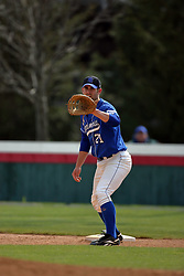15 February 2007: Casey Martin.  Indiana State Sycamores gave up the first game of the double-header by a score of 16-6 to the Illinois State Redbirds at Redbird Field on the campus of Illinois State University in Normal Illinois.