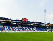 Vanaf het voetbalseizoen 2008-2009 heeft Willem II LED reclameborden in het stadion<br /> De KingSide met sponsor Plus markt<br /> Foto: Geert van Erven