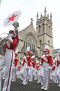 26 November 2009, NY, NY- Macy's Marching Band at The 2009 Macy's Day Parade held on November 26, 2009 in New York City. Terrence Jennings/Sipa