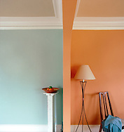 Yolo Colohouse paints are designed to be no VOC paints, non-toxic, child safe and low odor.  They make paint for both interior and exterior applications.