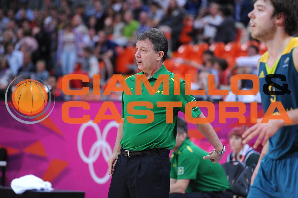 DESCRIZIONE : London Londra Olympic Games Olimpiadi 2012 Men Preliminary Round Brazil Australia Brasile Australia<br /> GIOCATORE : Ruben Magnano<br /> CATEGORIA : <br /> SQUADRA : Brasil Brasile<br /> EVENTO : Olympic Games Olimpiadi 2012<br /> GARA : Brazil Australia Brasile Australia<br /> DATA : 29/07/2012<br /> SPORT : Pallacanestro <br /> AUTORE : Agenzia Ciamillo-Castoria/M.Marchi<br /> Galleria : London Londra Olympic Games Olimpiadi 2012 <br /> Fotonotizia : London Londra Olympic Games Olimpiadi 2012 Men Preliminary Round Brazil Australia Brasile Australia<br /> Predefinita :