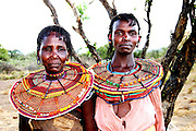 Africa, Kenya, Turkana District in northwest Kenya Turkana tribe October 2005