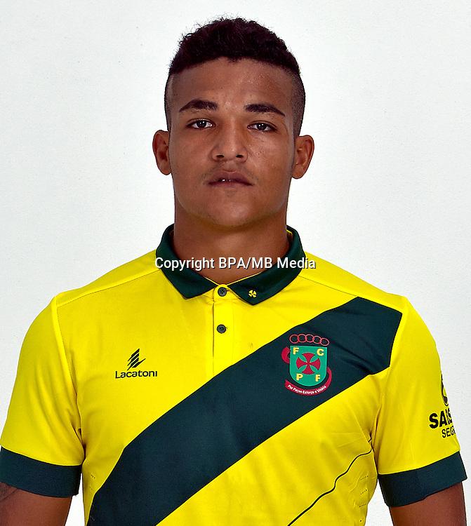 Portugal - Primera Liga NOS 2016-2017 /  <br /> ( FC Pacos de Ferreira ) - <br /> Welthon Fiel Sampaio