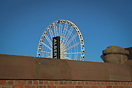 The Liverpool Wheel in Liverpool, Britain.