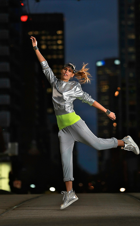 Viviens Model - ISKRA. Fashion Story about the growth in super-expensive sports gear, plus the influence it's having on street fashion in the run-up to Olympics. Pic By Craig Sillitoe CSZ / The Sunday Age.29/06/2012 melbourne photographers, commercial photographers, industrial photographers, corporate photographer, architectural photographers, This photograph can be used for non commercial uses with attribution. Credit: Craig Sillitoe Photography / http://www.csillitoe.com<br />