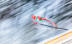 21.02.2016, Salpausselkae Schanze, Lahti, FIN, FIS Weltcup Ski Sprung, Lahti, Herren, im Bild Stephan Leyhe (GER) // Stephan Leyhe of Germany competes during Mens FIS Skijumping World Cup of the Lahti Ski Games at the Salpausselkae Hill in Lahti, Finland on 2016/02/21. EXPA Pictures © 2016, PhotoCredit: EXPA/ JFK