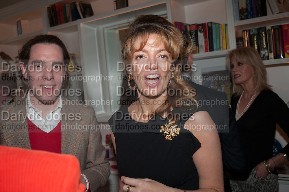 PETRONELLA WYATT, Party given by Basia Briggs and Richard Briggs at their home in Chelsea. London. 14 May 2012