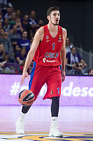 CSKA Moscu Nando de Colo during Turkish Airlines Euroleague match between Real Madrid and CSKA Moscu at Wizink Center in Madrid, Spain. October 19, 2017. (ALTERPHOTOS/Borja B.Hojas)