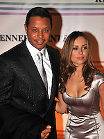 Terrence Howard and Zulay Henao arriving at The 30th Kennedy Center Honors, in Washington, DC , December 2, 2007.  The 2007 honorees are pianist Leon Fleisher, actor Steve Martin, Ross, film director Martin Scorsese and musician Brian Wilson.