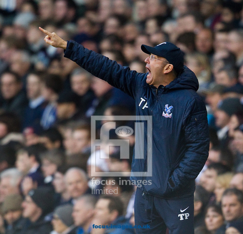 Picture by John Rainford/Focus Images Ltd +44 7506 538356<br /> 11/01/2014<br /> Tony Pulis, manager of Crystal Palace during the Barclays Premier League match at White Hart Lane, London.