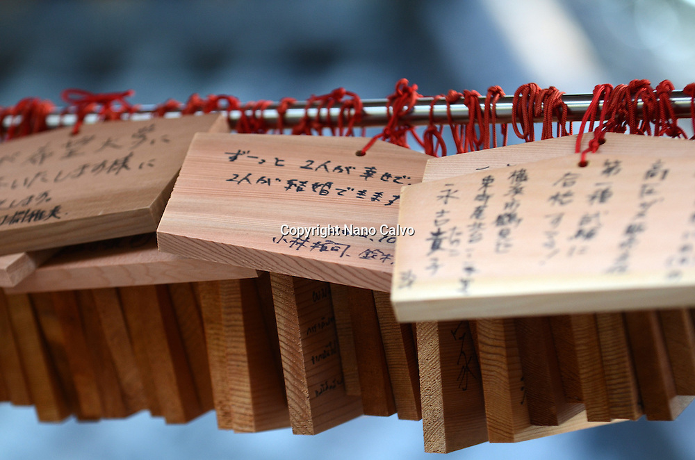 Ema wooden prayers, Nikko Toshogu Shrine