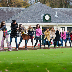 Miss World 2011 contestants play Golf at Gleneagles