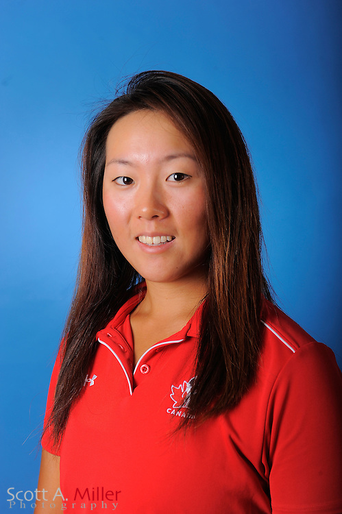 Rebecca Lee-Bentham during a portrait session prior to the second stage of LPGA Qualifying School at the Plantation Golf and Country Club on Sept. 24, 2011 in Venice, FL...©2011 Scott A. Miller