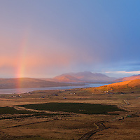 Rainbow over Gurrane, Portmagee, County Kerry, Ireland / vl133